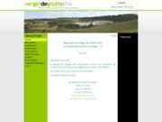 screenshot http://www.vergerdegouttedor.fr bienvenue à la ferme verger de goutte d'or