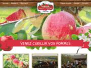 autocueillette de pommes laurentides