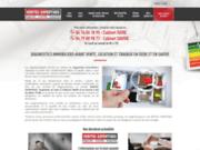 screenshot http://www.veritec-expertises.fr dignostic immobilier devis gratuit