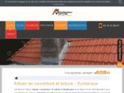 screenshot https://www.vermeersch-toiture.fr/ Couverture toiture à Dunkerque