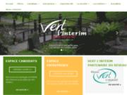screenshot http://www.vert-interim.com/ vert intérim : offres d'emploi espaces verts