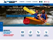 Canoe vallon pont d'arc - Location canoe Ardeche