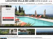 screenshot http://www.villa-azur-riviera.com villa sur la côte d'Azur