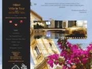 screenshot http://www.villa-la-tour.com hotel nice