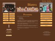 screenshot http://www.villafrica.com location de salle à aubais dans le gard