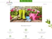 screenshot http://www.villaverde-lebeausset.com jardinerie