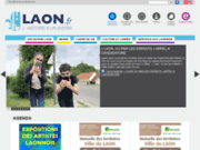 screenshot http://www.ville-laon.fr ville de laon