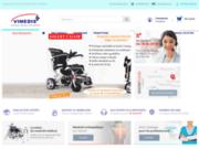 screenshot http://vimedis.fr vimedis : matériel médical, orthopédie et handicap