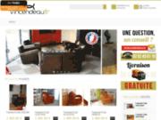 Vincendeau - Fauteuils club en cuir de basane
