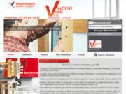 screenshot http://www.vincent-neri-serrurier-vitrier.com/ Serrurerie et vitrerie à Genas
