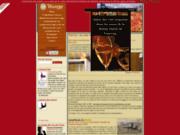 screenshot http://www.vins-vouvray.com les grands vins de vouvray