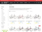 screenshot http://www.vintage-cycles.fr Vente de vélos sur Paris