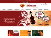 screenshot http://www.violon.com/ crystal lutherie : magasin et atelier de lutherie