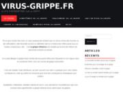 Virus-Grippe.fr : un nouveau site d'informations sur la grippe
