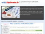 Visa thailande, le guide sur le visa pour la thailande.