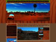 screenshot http://www.visagesdumaroc.com Trek maroc, vtt maroc, voyage au Maroc, randonnée au Maroc