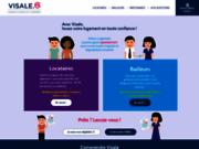 screenshot https://www.visale.fr garantie de loyers impayés