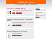 screenshot http://www.vishnu.fr Vertus des pierres naturelles