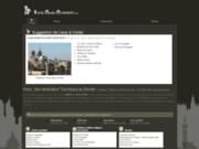 screenshot http://www.visites-musees-monuments.com historiques