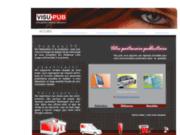 screenshot http://www.visu-pub.fr visu-pub // enseigne - signalétique - imprimerie - communication - marquage publicitaire tous supports toulon marseille
