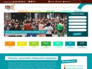 screenshot http://www.vitacolo.fr/ colonie de vacances, séjours jeunes et centres de
