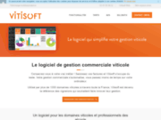 screenshot http://vitisoft.fr/Site/index.php Vitisoft
