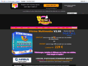screenshot http://vitrine-multimedia.com/ vitrine multimedia logiciel d'affichage dynamique