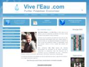 screenshot http://www.viveleau.com adoucisseur d'eau naturel sans sel