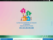 screenshot http://www.vivrebienchezsoi.com le service à domicile sur mesure
