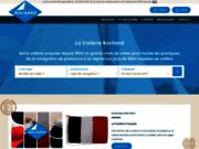 screenshot http://www.voilerie-rochard.fr Voilerie Rochard : Vente en ligne de voiles et d'équipements pour voiliers