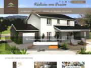 screenshot http://www.voiron-constructions.com constructeur de maisons individuelles en rhônes-alpes : lyon - grenoble - voiron.