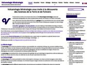 Volcanologie Minéralogie, photos de volcans et de minéraux