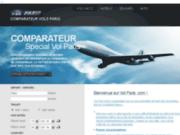 Comparateur de vols Paris
