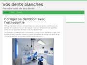 screenshot http://www.vos-dents-blanches.fr vos dents blanches - blanchiment dentaire