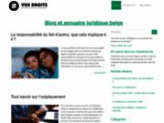 Site juridique pour la Belgique