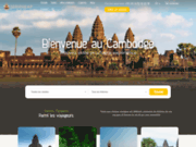 screenshot http://www.voyagecambodge.com/ Voyage au Cambodge