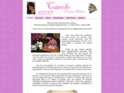 screenshot http://www.voyance-carole.fr/ carole voyante médium réputée à lyon