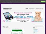 screenshot http://www.voyancesms.info Voyance par sms