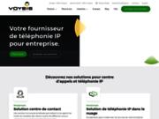 screenshot http://www.voysis.ca système téléphonique