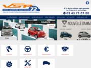 VSP 72 voitures sans permis Aixam à ALLONNES, Sarthe
