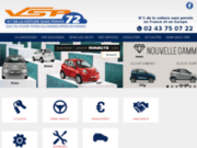 screenshot http://www.vsp72.com vsp 72 et vsp 61, voiture sans permis aixam