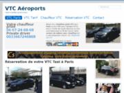 VTC Paris, Chauffeur privé, chauffeur VTC