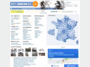 screenshot http://www.vtt-annonces.com vtt annonces