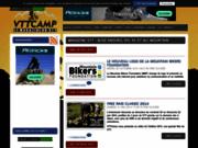 screenshot http://vttcamp.com Actu du VTT