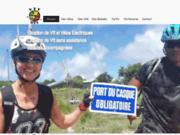 screenshot http://vttguadeloupe.com VTT en Guadeloupe