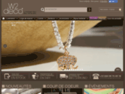 screenshot http://www.w2deco.com w2deco, la boutique déco dans l'air du web