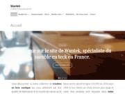 screenshot http://www.wantek.eu wantek meuble en teck - meubles de salle de bains en teck massif de qualité