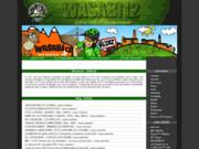 screenshot http://wasabi12.free.fr blog - aveyron - vtt