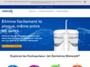 screenshot http://www.waterpiks.fr waterpiks, hydropulseurs buccales