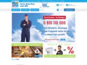 screenshot http://www.wc-broyeur.com/ vente de wc-broyeur, broyeur d'évier et pompe de relevage
